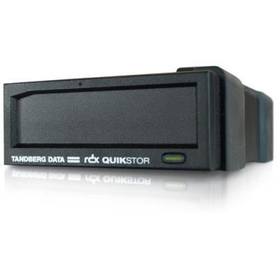 Tandberg data tape drive: Data RDX External drive, black, USB3.0 - Zwart