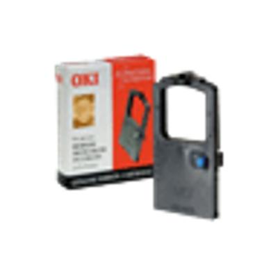 OKI printerlint: Lintcassette, 2 miljoen tekens - Zwart