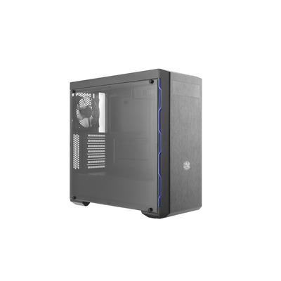 Cooler Master MasterBox MB600L Behuizing - Zwart, Blauw