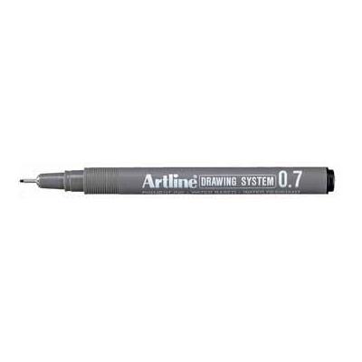 Artline viltstift: FINELINER 0,7MM ZWART