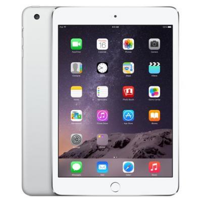 Apple tablet pc: iPad Mini 3 64GB - zilver | Refurbished | Als nieuw