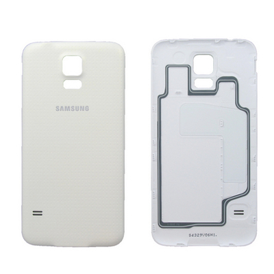 Samsung Cover Assembly Battery, white Mobile phone spare part