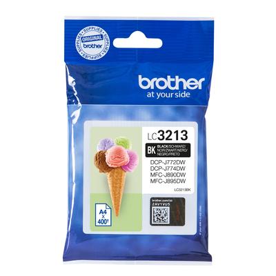 Brother Black, 400p, High Yeld Inktcartridge - Zwart