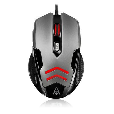 Adesso Multi-Color 6-Button Gaming Mouse Muis - Zwart,Grijs