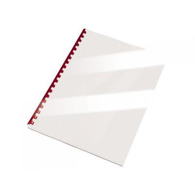 Staples binding cover: Schutblad SPLS A4 Glos wit 250gm/pak 100