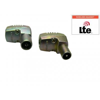 Sandberg AV kabels: Aerial M+F LTE protected 2pack