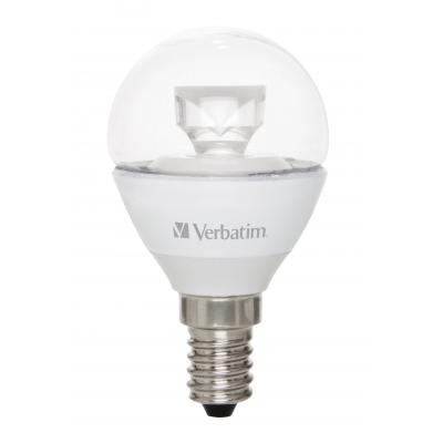 Verbatim led lamp: LED Mini Globe Clear, E14, 4.5W