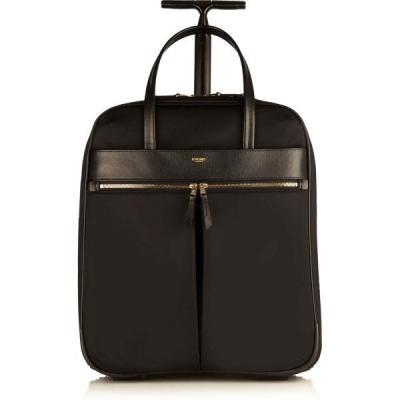 Knomo bagagetas: Burlington Ns Wheeled Briefcase 15 Black - Zwart