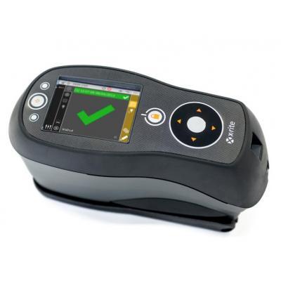 X-Rite Ci64UV Spectrophotometer - Zwart