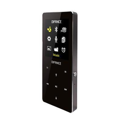 Difrnce MP1819BT - Bluetooth MP4 Speler - 8 GB - Zwart MP3 speler