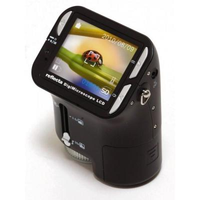 Reflecta microscoop accessoire: DigiMicroscope LCD - 2.4'' LCD, CMOS, SD/SDHC, USB 1.1 - Zwart
