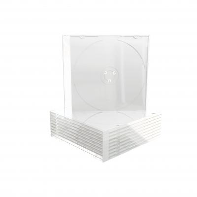 Mediarange : CD Slimcase with Clear Tray - Transparant