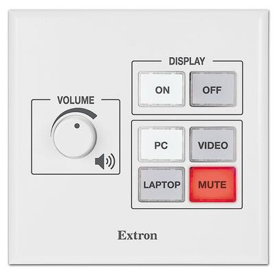 Extron MLC 55 RS VC Drukknop-panel - Zwart, Wit