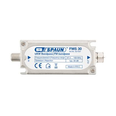 Spaun FMS 30 Kabel splitter of combiner - Zilver