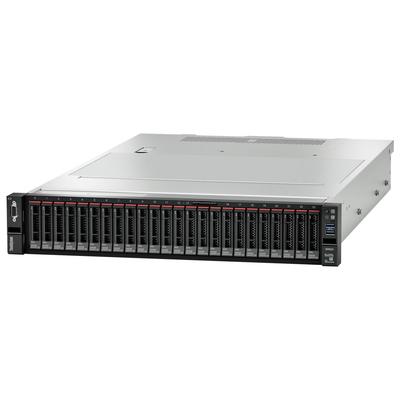 Lenovo ThinkSystem SR655 Server - Zwart, Metallic