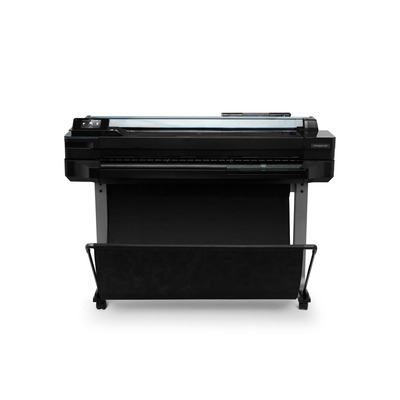 HP grootformaat printer: Designjet T520 - Zwart, Cyaan, Magenta, Geel