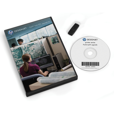 HP DesignJet PostScript/PDF Upgrade Kit Printeremulatie upgrade