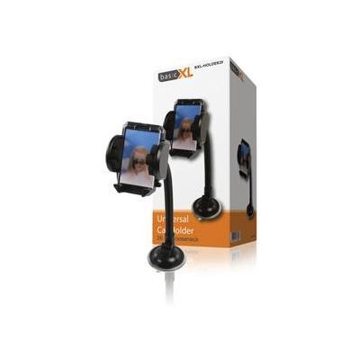 Basicxl houder: UNIVERSELE TELEFOONHOUDER VOOR AUTO - Zwart