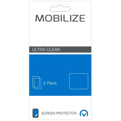 Mobilize Clear 2-pack BlackBerry Leap Screen protector - Transparant