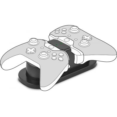Speedlink batterij: Speedlink, TWINDOCK USB Dual Charger voor Xbox One (Zwart)