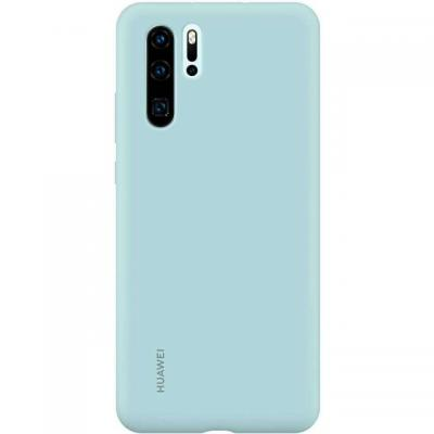 Huawei Silicon Case P30 Pro Light Blue telefoon cover