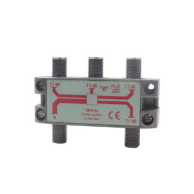 Hirschmann 4-WAY SPLITTER Kabel splitter of combiner - Metallic