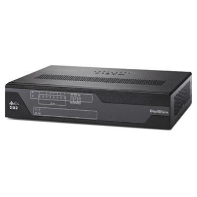 Cisco wireless router: 888 - Zwart