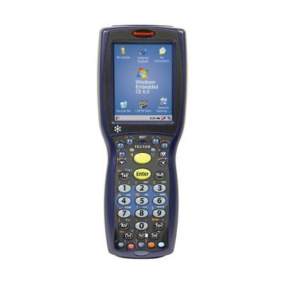 Honeywell PDA: Tecton Cold Storage - Zwart, Blauw, Alphanumeric