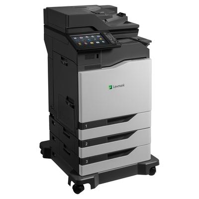 Lexmark CX860dtfe Multifunctional - Zwart,Cyaan,Magenta,Geel