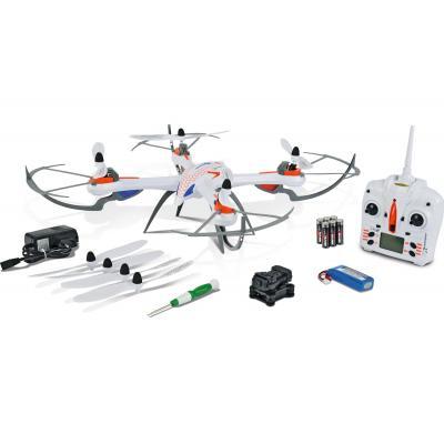 Carson drone: X4 Quadcopter 550 - Blauw, Oranje, Wit