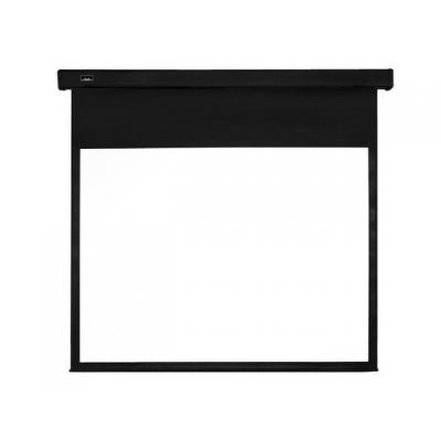 "Multibrackets projectiescherm: 7350022733978 - 77"", 16:9 Motorized Projection Screen Black Edition - Zwart, Wit"