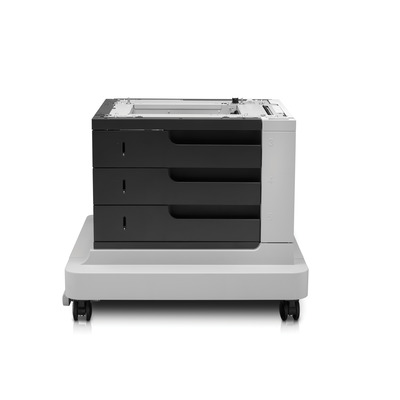 Hp papierlade: LaserJet LaserJet 3x500-sheet papierinvoer met standaard