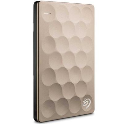 Seagate Backup Plus Ultra Slim 2TB Externe harde schijf - Goud