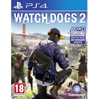 Ubisoft game: Watch Dogs 2  PS4