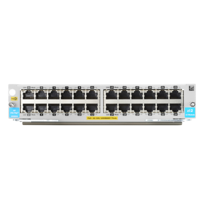 Hewlett packard enterprise netwerk switch module: 24-port 10/100/1000BASE-T PoE+ MACsec v3 zl2 Module
