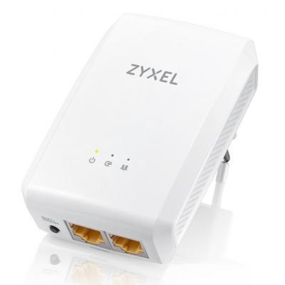 Zyxel powerline adapter: PLA5206 V2 - Wit