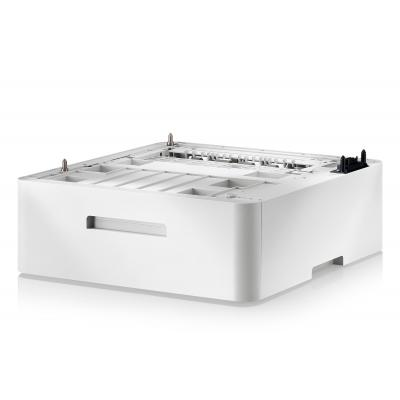 Samsung papierlade: CLP-S680A - Media tray - 520 sheets - for CLP-680DW, 680ND, CLX 6260FD, 6260FR, 6260FW, 6260ND - Wit