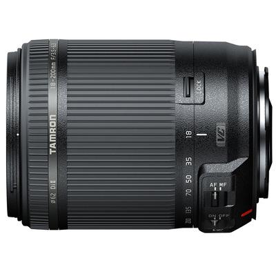 Tamron camera lens: 18-200mm F/3.5-6.3 Di II VC - Zwart