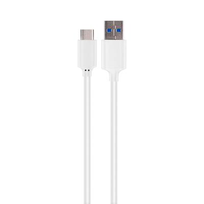 Xqisit USB C 3.1 to USB data cable 1m, White USB kabel - Wit
