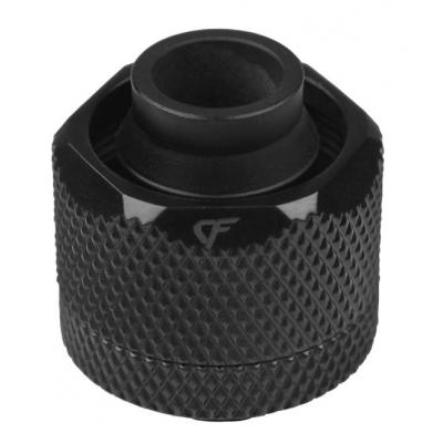 Nanoxia CF Compression fitting G1/4 AG to 19/13 mm Cooling accessoire - Zwart
