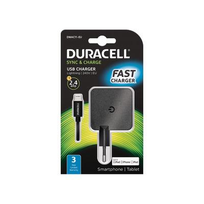 Duracell DMAC11-EU Oplader - Zwart