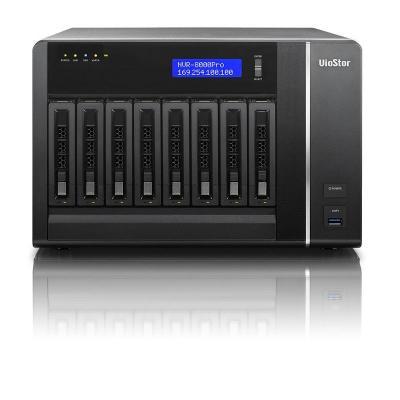"""Qnap : Tower, Intel Core i3-2120 3.3GHz, 4GB DDR3, 8x 3.5"""" SATA III, 2x RJ-45, Gigabit Ethernet, 2x USB 3.0, 4x USB ....."""