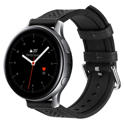 Spigen Galaxy Watch Active 2 (44mm/40mm) Watch Band Retro Fit - Zwart