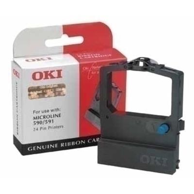 OKI Inktlintcassette Printerlint - Zwart