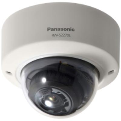 Panasonic 4K Vandal Resistant Indoor Dome Network Camera Beveiligingscamera - Wit