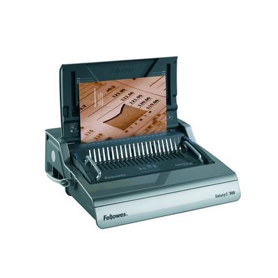Fellowes inbindmachine: Galaxy E Comb - Zwart, Zilver