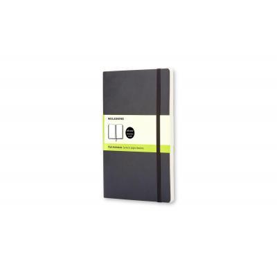 Moleskine Plain Soft Notebook - Pocket Schrijfblok - Zwart