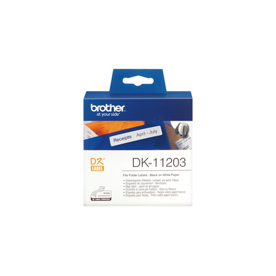 Brother DK-11203 labelprinter tape