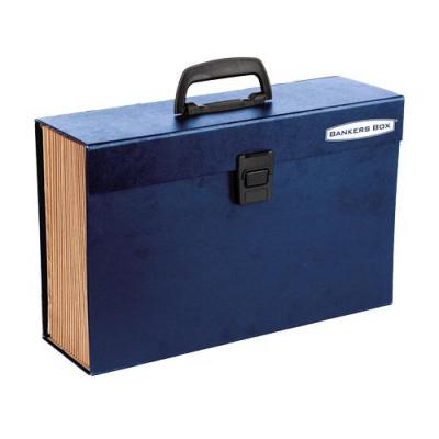 Fellowes archiefdoos: Bankers Box Handifile opbergkoffer blauw
