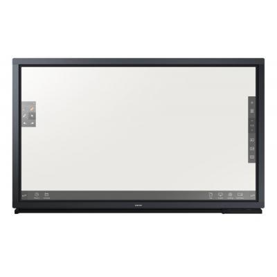 Samsung public display: DM75E-BR - Zwart